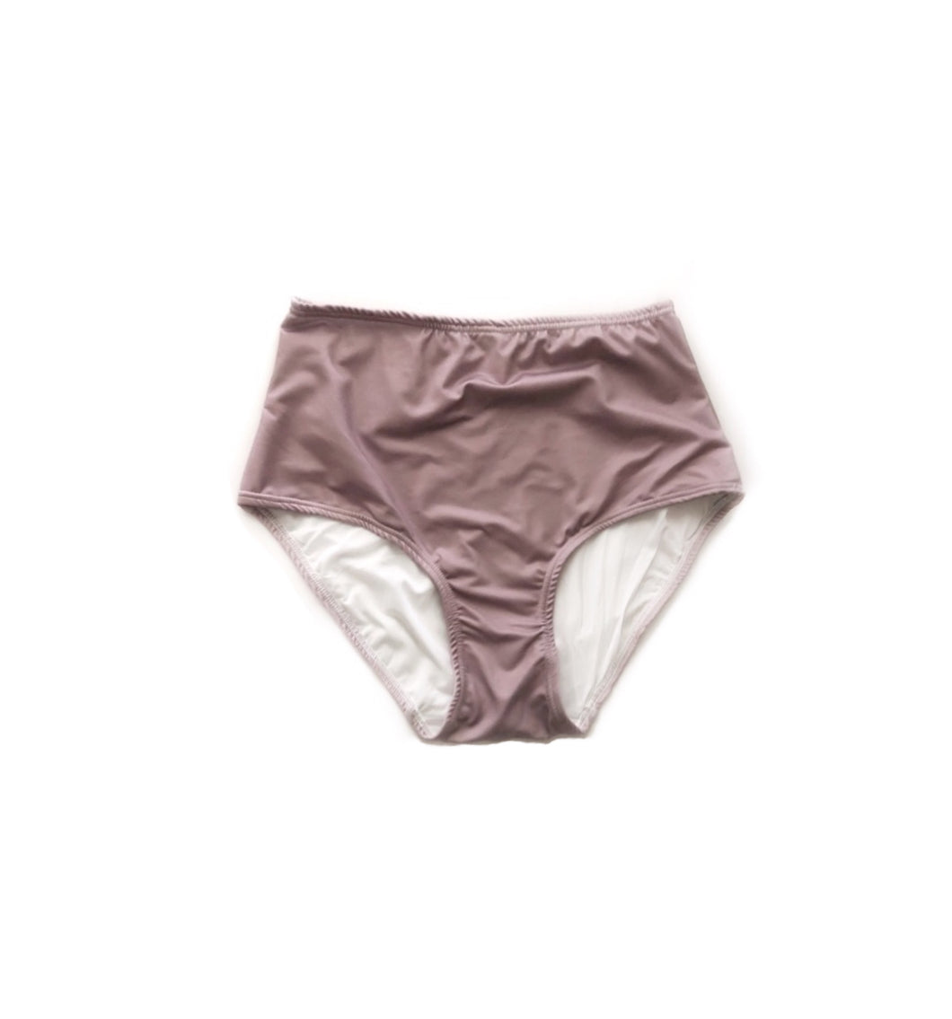Child- Mauve swim bottoms - high quality handmade kids clothes - Brooklynn & Grey