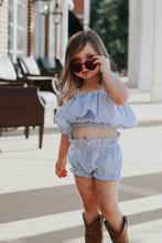 Bella Top- Seersucker - high quality handmade kids clothes - Brooklynn & Grey