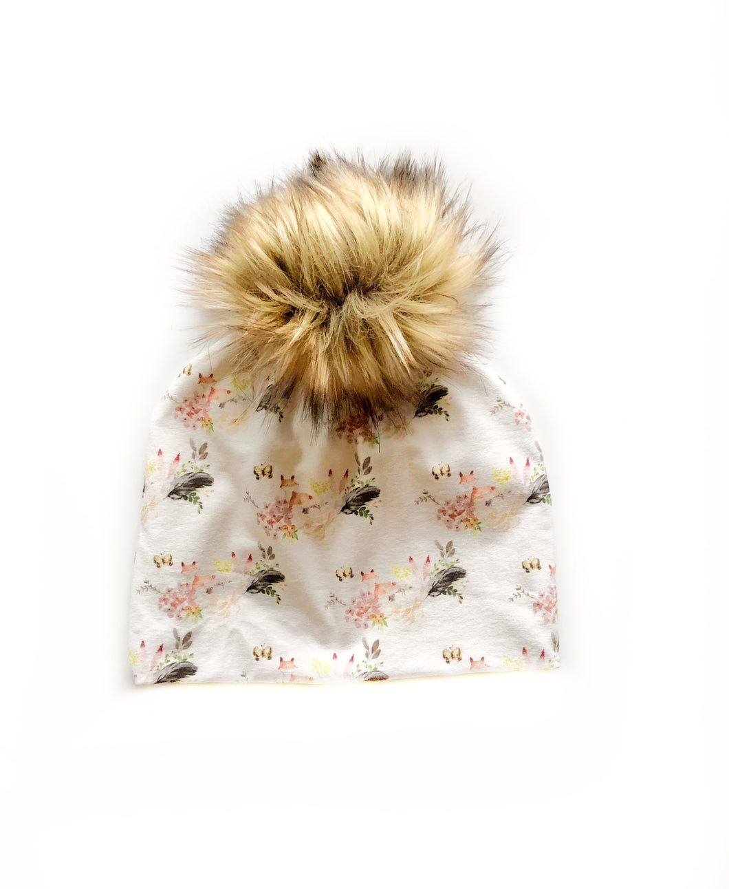 Boho fox baby-adult beanie - high quality handmade kids clothes - Brooklynn & Grey