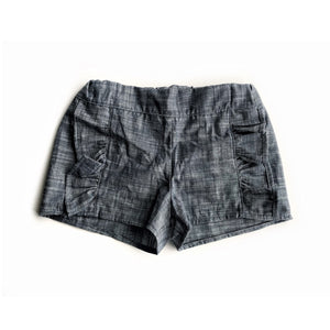 Ruffle front shorts - high quality handmade kids clothes - Brooklynn & Grey