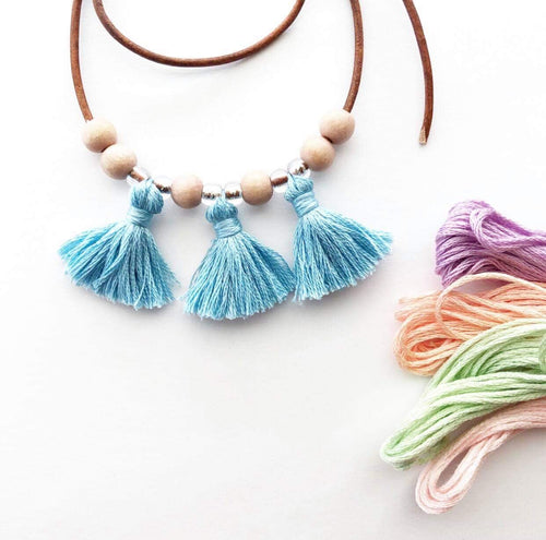 Fringe Necklace - high quality handmade kids clothes - Brooklynn & Grey