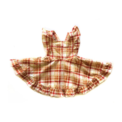 RTS Penny Skirt- Fall Plaid - high quality handmade kids clothes - Brooklynn & Grey