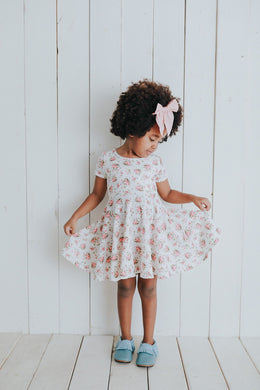 Twirl dress- Floral blooms