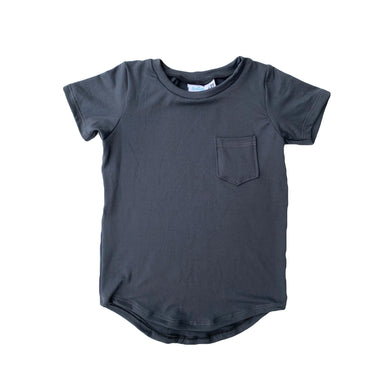 Simply BG-Curved pocket tee-You choose color