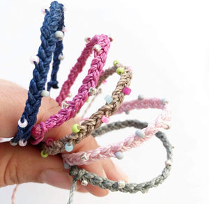 SWIM Anklets- Kids and Adult waterproof jewelry