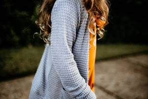 Cardigan- Child- Grey