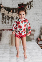 Ruffle bummies or shorties (you choose)- red polka dot - high quality handmade kids clothes - Brooklynn & Grey