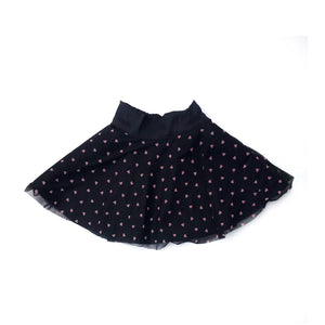 RTS Hearts Twirl Skirt - high quality handmade kids clothes - Brooklynn & Grey