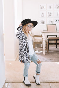 Cardigan- Child- Leopard