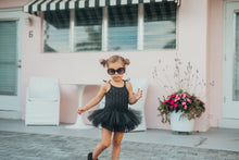 Jolie- Black Crochet - high quality handmade kids clothes - Brooklynn & Grey