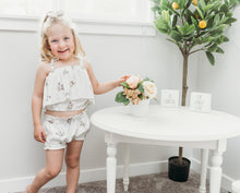 Bella Top- Itsy bitsy floral - high quality handmade kids clothes - Brooklynn & Grey