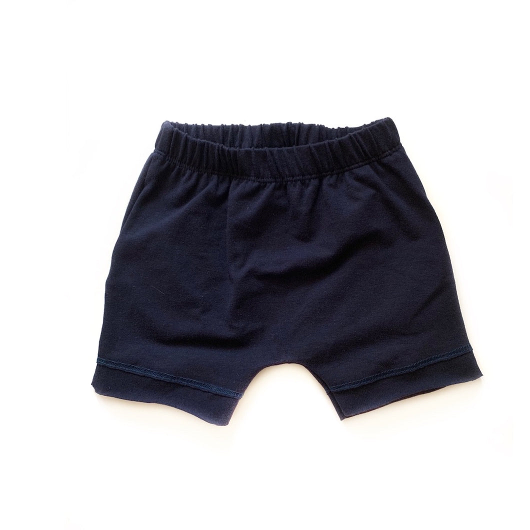 Shorts- Navy - high quality handmade kids clothes - Brooklynn & Grey
