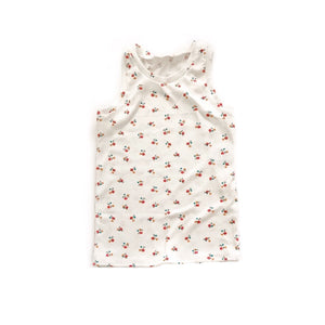 Mini floral tank - high quality handmade kids clothes - Brooklynn & Grey