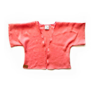 Mama kimono- Coral - high quality handmade kids clothes - Brooklynn & Grey