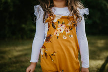 Sawyer- Mustard Yellow floral