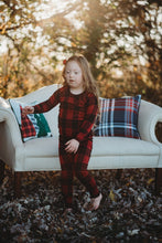Lounge set- top and pants - Buffalo Plaid