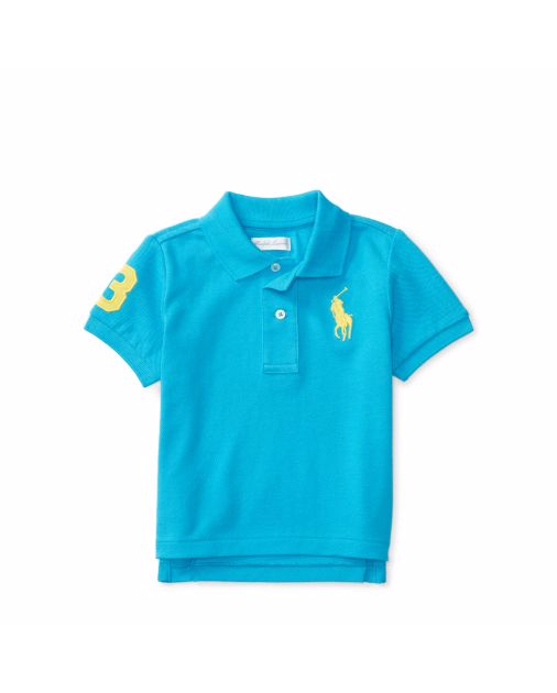 Baby Ralph Laauren Polo Shirt, Top Authentic - - Ralph Lauren Baby - Discountsaleuk