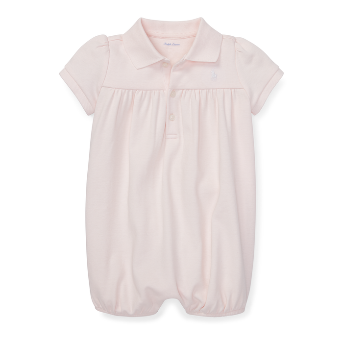Baby Girl Ralph Lauren Interlock Bubble Shortall Authentic - Discountsaleuk