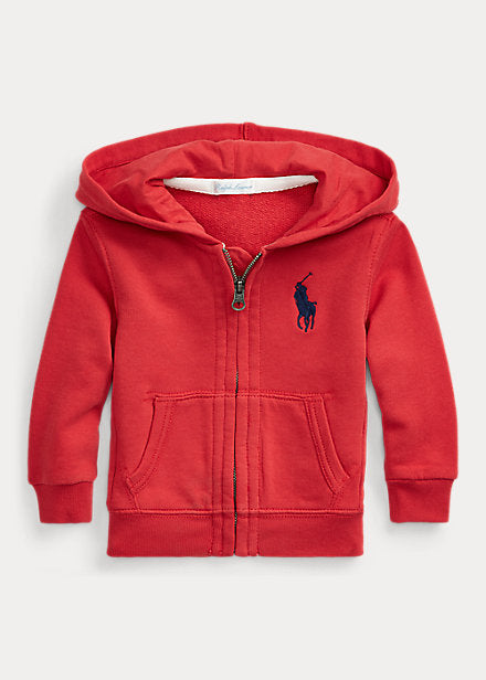 Baby Ralph Lauren Big pony FRENCH TERRY HOODIE Authentic - Discountsaleuk