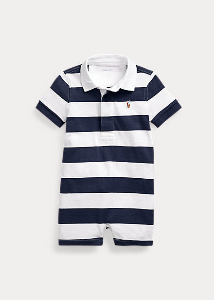 Baby Ralph Lauren Cotton Mesh Shortall Authentic - Discountsaleuk