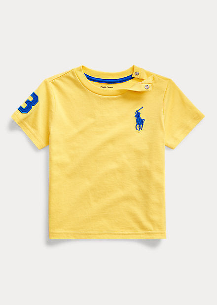 Baby boy Ralph Lauren Cotton T-Shirt Authentic - Discountsaleuk