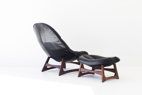 Adrian Pearsall Lounge Chair and Ottoman for Craft Associates Inc. - 01031707