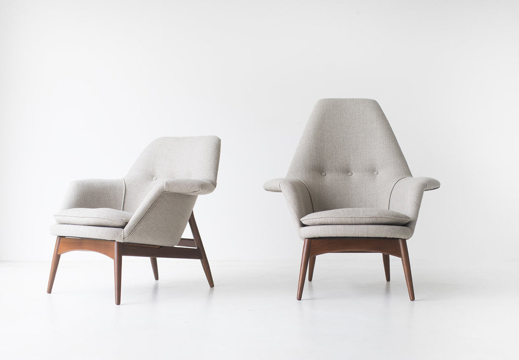 Björn Engö Manta Ray Lounge Chairs: Importer Dux Furniture   01301702