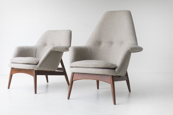 Superbe ... Björn Engö Manta Ray Lounge Chairs Importer Dux  ...