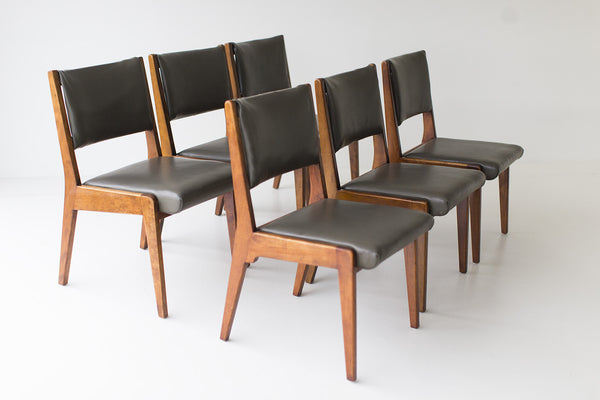 ... Early Jens Risom Dining Chairs 01141619 04 ...