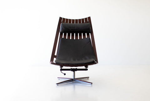 Arne Jacobsen Leather Grand Prix Dining Chairs for Fritz Hansen - 05101803