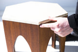 Harvey Probber Attributed Octagon Side Table - 01191623
