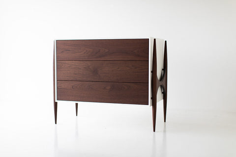 Modern Bookcase Cabinet : The Peabody Collection