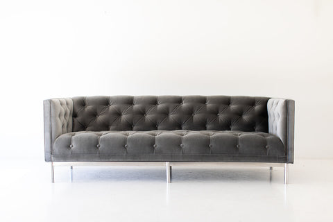 Modern Suelo Sofa - Turned Leg - Bertu Home