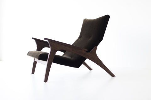 Modern Lounge Chairs - Craft Associates® Frank Wing Chair