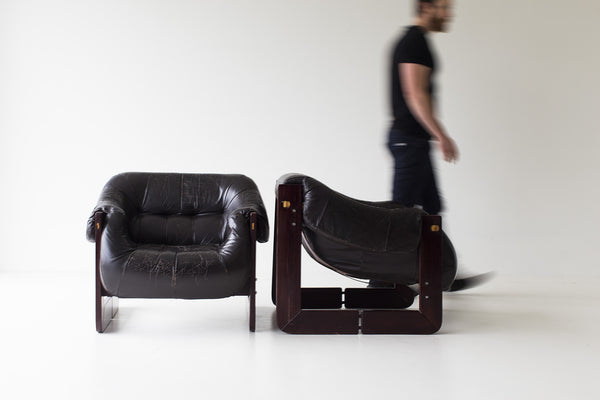... Percival Lafer Leather Lounge Chairs 01141616 08 ...