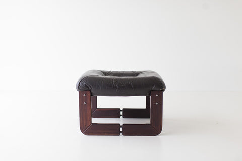Percival Lafer Leather Ottoman - 01141618
