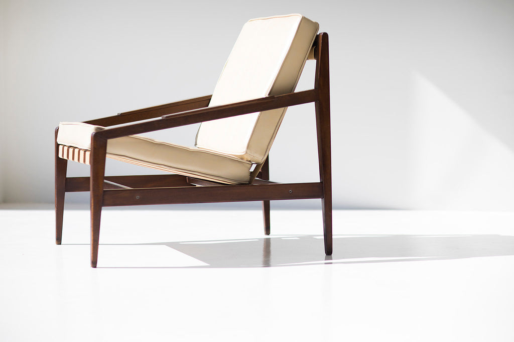 Rare Ib Kofod Larsen Lounge Chair For Selig Imports   03091801