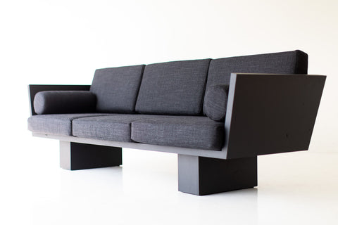 Suelo Modern Black Sofa for Bertu Home