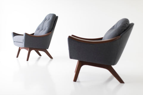 Adrian Pearsall Lounge Chair and Ottoman for Craft Associates Inc. - 05101802