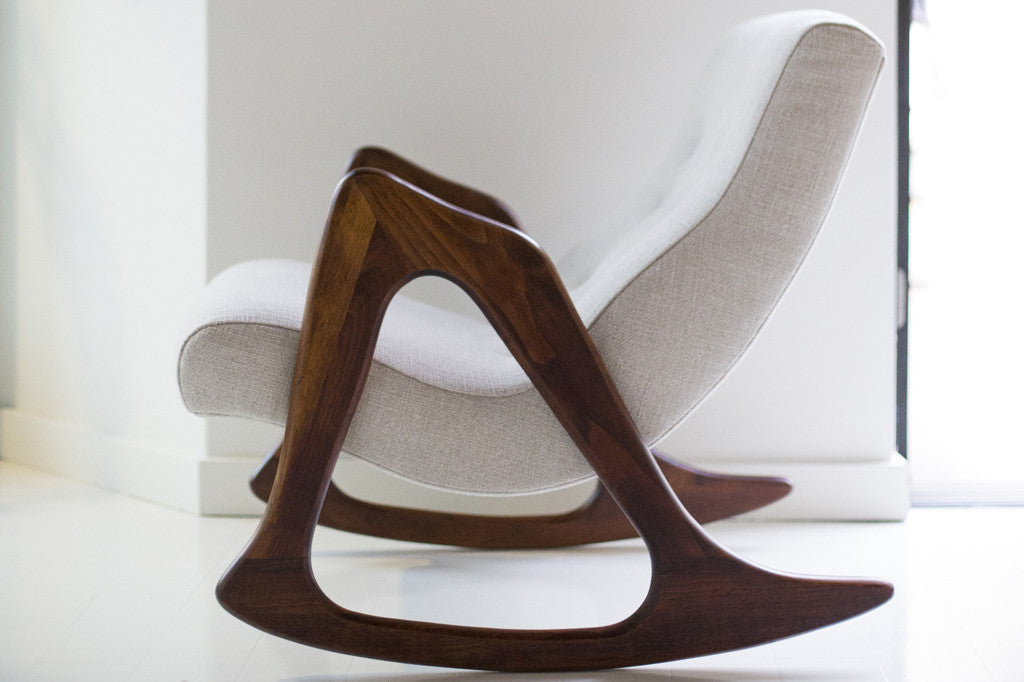 Adrian Pearsall Rocking Chair For Craft Associates   01171602