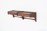 Arne Hovmand Olson Teak Floating Shelves - 01231601