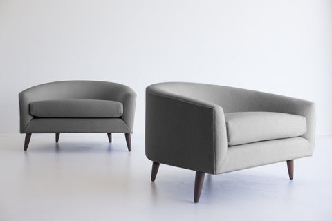 Modern Chaise Lounge - 1704 - Craft Associates® Furniture