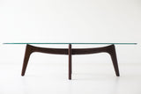 Craft Associates® Modern Walnut Coffee Table 1513 - Surf