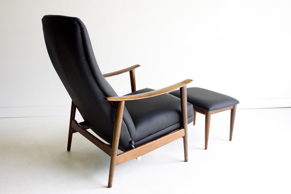 Delicieux ... Danish Lounge Chair And Ottoman For Westnofa   01231606