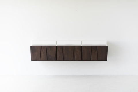 Floating Credenza - 1702 - Craft Associates® Furniture