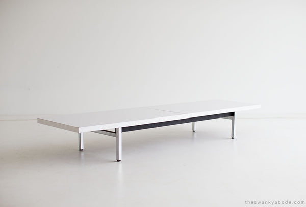 ... George Nelson Coffee Table Bench Herman Miller 01141604