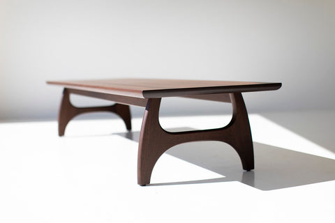 "Modern Walnut Dining Table for Bertu Home - 0718 - ""The Toko Table"""