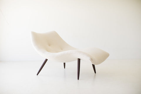 Lawrence Peabody Modern White Dining Chairs - P-1708 - Craft Associates® Furniture