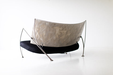 Modern Steel Studio Sofa by Stephen K Stuart - 11211803