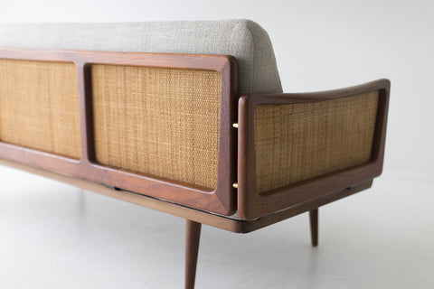 Peter Hvidt and Orla Mølgaard-Nielsen Teak Sofa for France and Son - 01031703